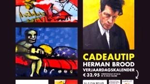 Poster Herman Brood Expositie