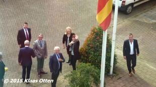 Het nieuwe College van Burgemeester en Wethouders Den Helder (foto Klaas Otten)