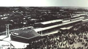 Opening van het nieuwe station, op 31 mei 1958, één dag voordat Rob Scholte geboren werd, namelijk 1 juni 1958