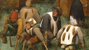 Pieter Bruegel de Oude - De kreupelen