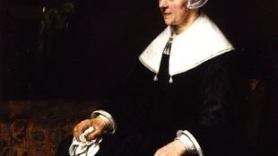 Rembrandt - Portrait of Catrina Hooghsaet (foto Gov.uk)