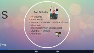 Rob Scholte in Zappen door het labyrint