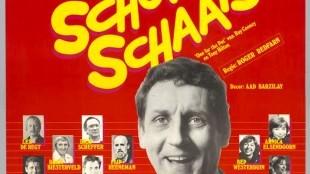 Affiche van Een scheve schaats door John Lanting's Theater van de Lach