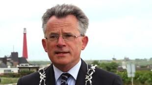Burgemeester Koen Schuiling