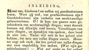 Hemke Hemkes - Vaderlandsche Geschiedenis (eerste blz.)