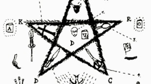 Het pentagram van Peter Verhelst