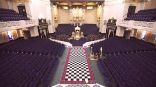 Inside the Freemasons' Hall