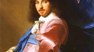 Johannes Verspronck - Vaandeldrager, Portret van Andries Stilte