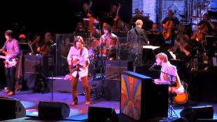 Bootleg Beatles performing I am the walrus