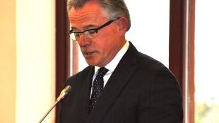 Burgemeester Koen Schuiling van Den Helder (foto Frank Grootemaat)