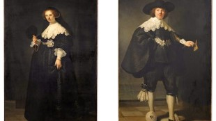 De portretten van Oopjen Coppit en Maarten Soolmans mogen niet worden gescheiden (foto ANP)