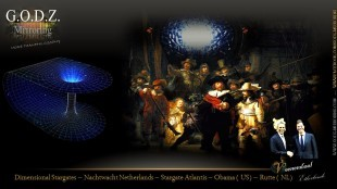 Dimensional Stargates - Nachtwacht Netherlands - Stargate Atlantis - Obama (US) - Rutte (NL)