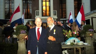 Frits Salomonson & Oscar Hammerstein