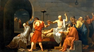 Jacques-Louis David - The Death of Socrates