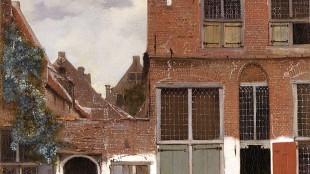 Johannes Vermeer - Het straatje (foto Rijksmuseum)
