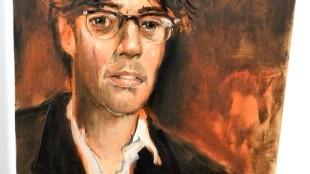 Peter Klashorst - Portret van Joost Zwagerman