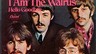 The Beatles - I am the walrus (frontcover)