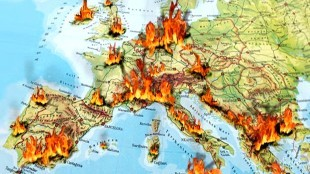 Europe on fire