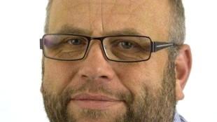 Marcel Karhof van het Helderse Sint Nicolaas Genootschap, tevens raadslid Stadspartij