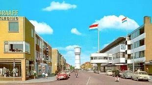 V & D en de Helderse Beatrixstraat in betere tijden
