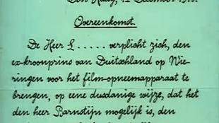 Overeenkomst van 12 december 1918