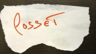 Ralph Posset - Autograph