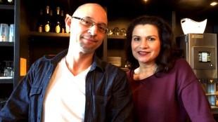 Rik Niks & zijn vrouw Barbara de Vries van sport- en dansschool Rik Bodylanguage (foto NH/Matthijs Gemmink