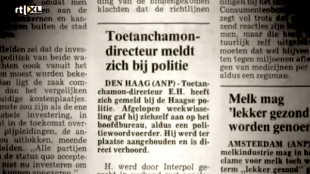 Toetanchamon-directeur meldt zich bij politie