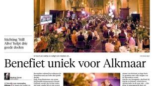Alkmaarse Courant, 14 maart 2016