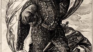 Hendrick Goltzius - Vaandeldrager