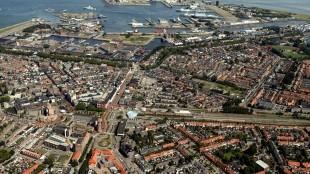 Het centrum van Den Helder (foto Peter van Aalst)