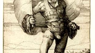 Lucas van Leyden - De vaandeldrager