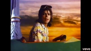 Michael Jackson in Leave me alone