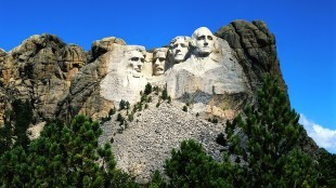 Mount Rushmore National Memorial, South Dakota, USA (foto McAllen Independent School District Social Studies Department)