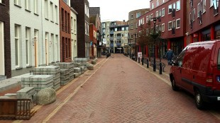 Spoorstraat te Den Helder in november 2015 (foto Archief Den Helder Actueel)