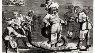 Den Afgrysselikken Staart-Man (foto Rijksmuseum, Amsterdam)