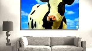 Een koe van de Kunstfabriek