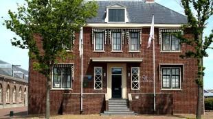 Gebouw van Zeestad op Willemsoord in beeld voor stadhuis (foto DHA)