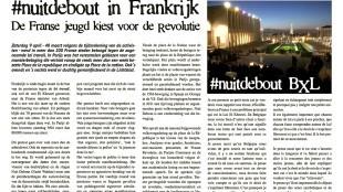 #nuitdebout in Frankrijk - De Franse jeugd kiest voor de revolutie