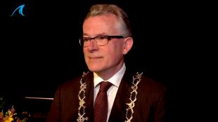 Burgemeester Koen Schuiling, voorzitter van het College van B & W Den Helder (foto L.O.S.)
