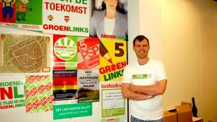 De Stadspartij wethouder Pieter Kos is eigenlijk GroenLinks (foto GroenLinks)