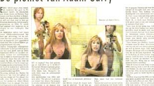 De piemel van Adam Curry (foto Het Parool/WTF.nl)