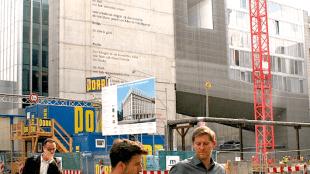 Het gebouw van Rem Koolhaas is straks nauwelijks nog te zien (foto Hollandse Hoogte)