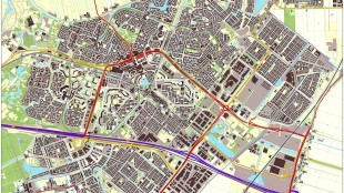 Infrastructuur Zoetermeer (foto Jan-Willem van Aalst)