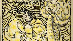 Jan Toorop - Affiche Delftsche Slaolie