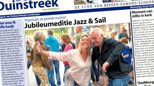 Weekblad De Duinstreek (foto jazzbergen.nl)