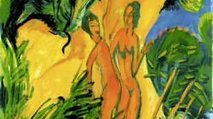 Ernst Ludwig Kirchner - Jonge meisjes op Fehmarn