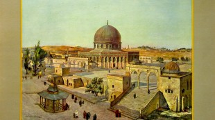 Het Tempelplein Jeruzalem