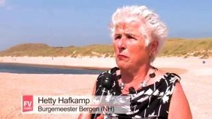 Hetty Hafkamp, Burgemeester van Bergen (NH, foto FVmedia)