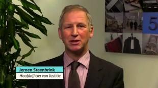 Hoofdofficier van Justitie Jeroen Steenbrink